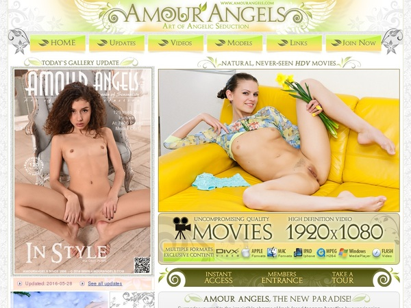 Amour Angels Login Pass