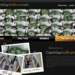 Czech Gay Solarium Account 2014