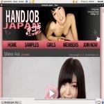 Handjob Japan Wachtwoord