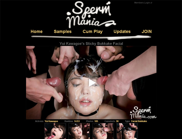 Join Spermmania.com For Free