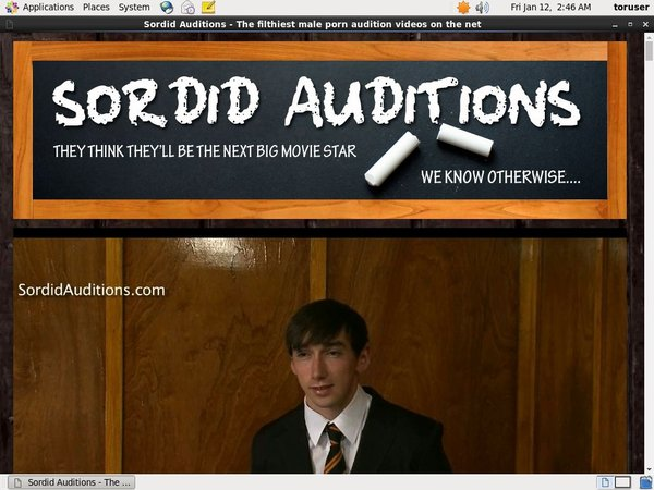Membership For Sordid Auditions V2