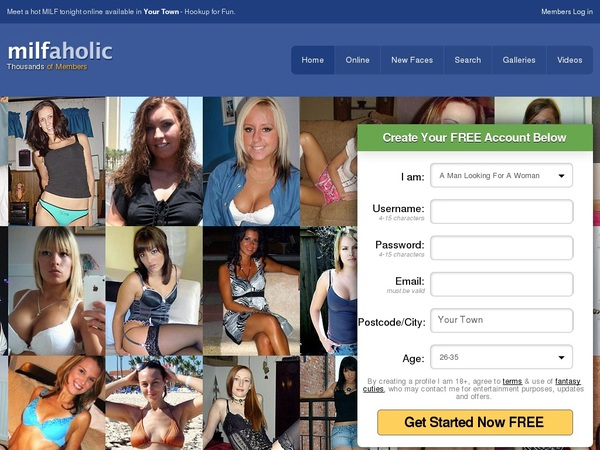 milfaholic site