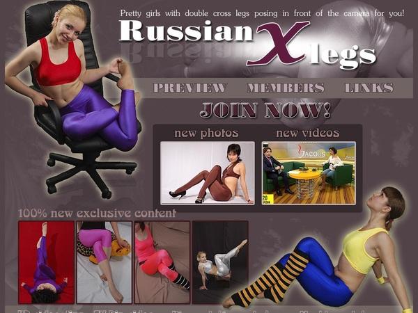 Russian X Legs Member Login