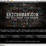 Eric Deman Upcoming