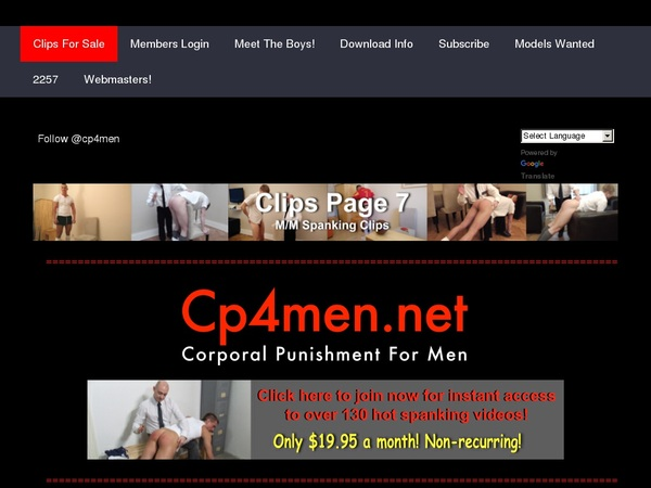 CP 4 Men Join Now