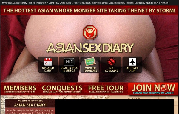 Asiansexdiary.com With Gift Card