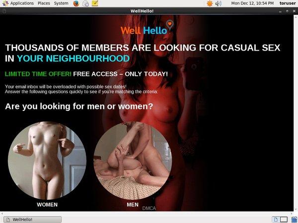 Wellhello.com Premium Login