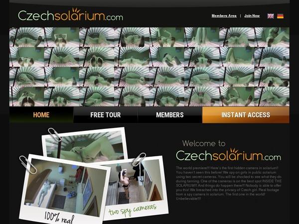 Czechsolarium.com Accounts Password