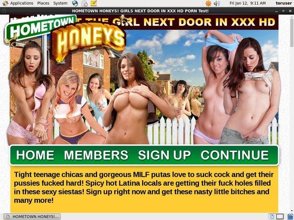 Free Passwords Hometown Honeys
