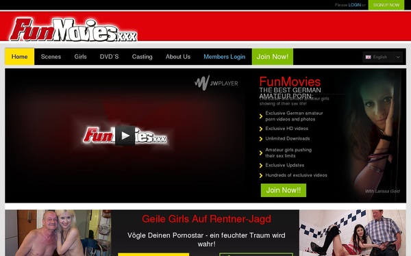Fun Movies Join With ClickandBuy