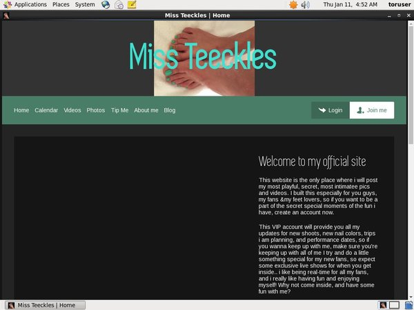 Miss Teeckles Free Users
