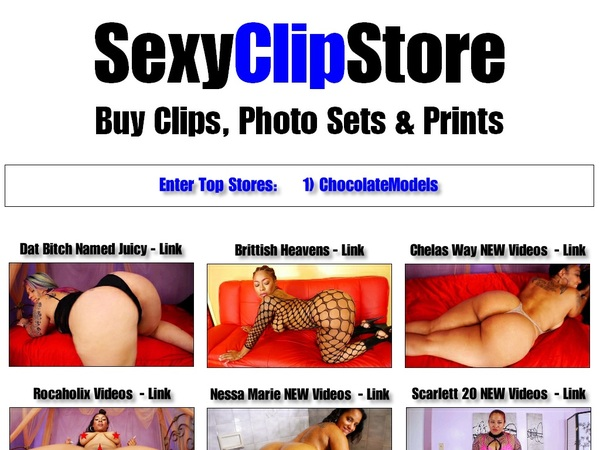 Sexy Clip Store Girls