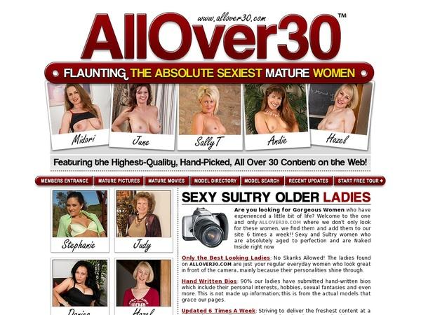 All Over 30 Original Member Discount