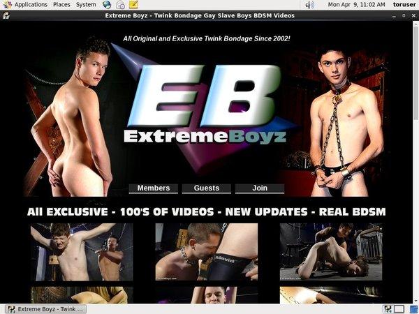 Free Password To Extreme Boyz