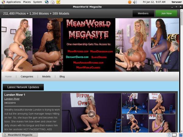 Mean World Site Discount