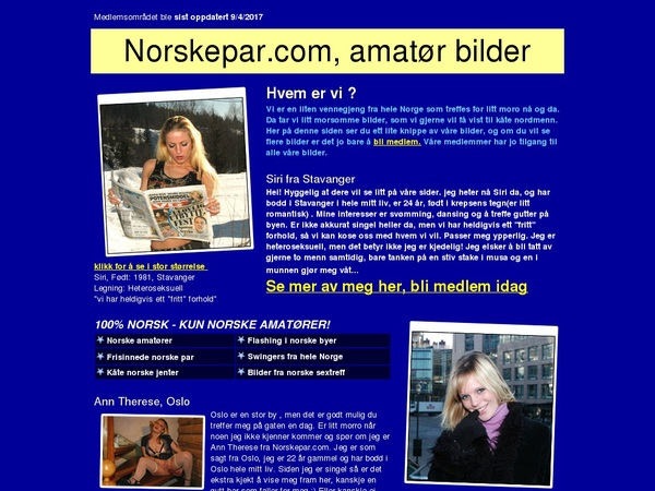 Norske Par Rabatt